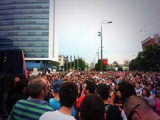 JMBG protests in bosnia