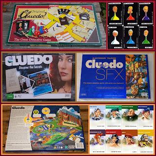 Board Game; Boardgame Pieces; Clue; Cluedo; Cluedo Discover The Secrets; Cluedo SFX; Game; Game Playing Pieces; Original Cluedo; Plastic Figurines; Playing Board; Playing Piece; Small Scale World; smallscaleworld.blogspot.com;