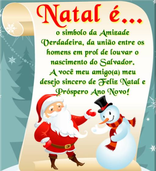 Mensagens de Natal e Ano Novo para imprimir
