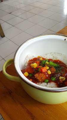 Chicken N Rice BBQ Piring Digital