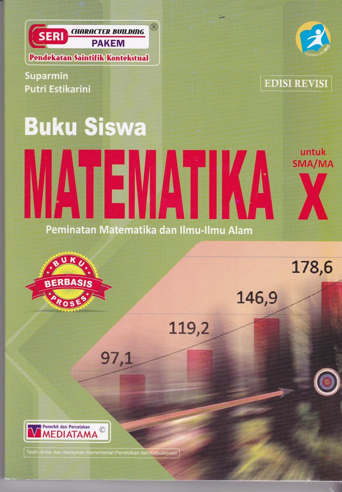 Buku Matematika Peminatan Kelas 10 Pdf : matematika, peminatan, kelas, Resensi], Siswa, Matematika, Peminatan, Kelas, Edisi, Revisi