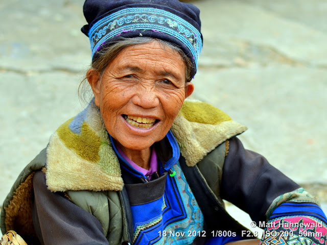 close up, people, street portrait, China, Yunnan, hill tribe, ethnic minority, traditional costume, Laomeng, Hani people