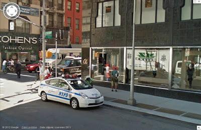 Toyota Prius, NYPD
