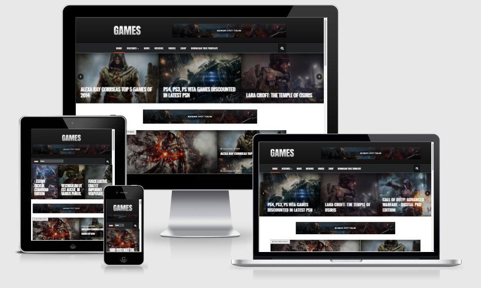 Sora Game - Template chia sẻ game trò chơi đẹp 2016