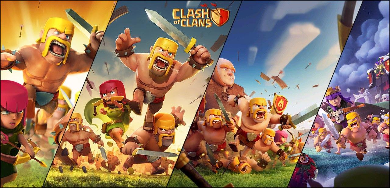Assez Nostalgia] A evolução das telas de carregamento do Clash - Clash  OK21