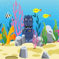 AvmGames Escape Scuba Diver