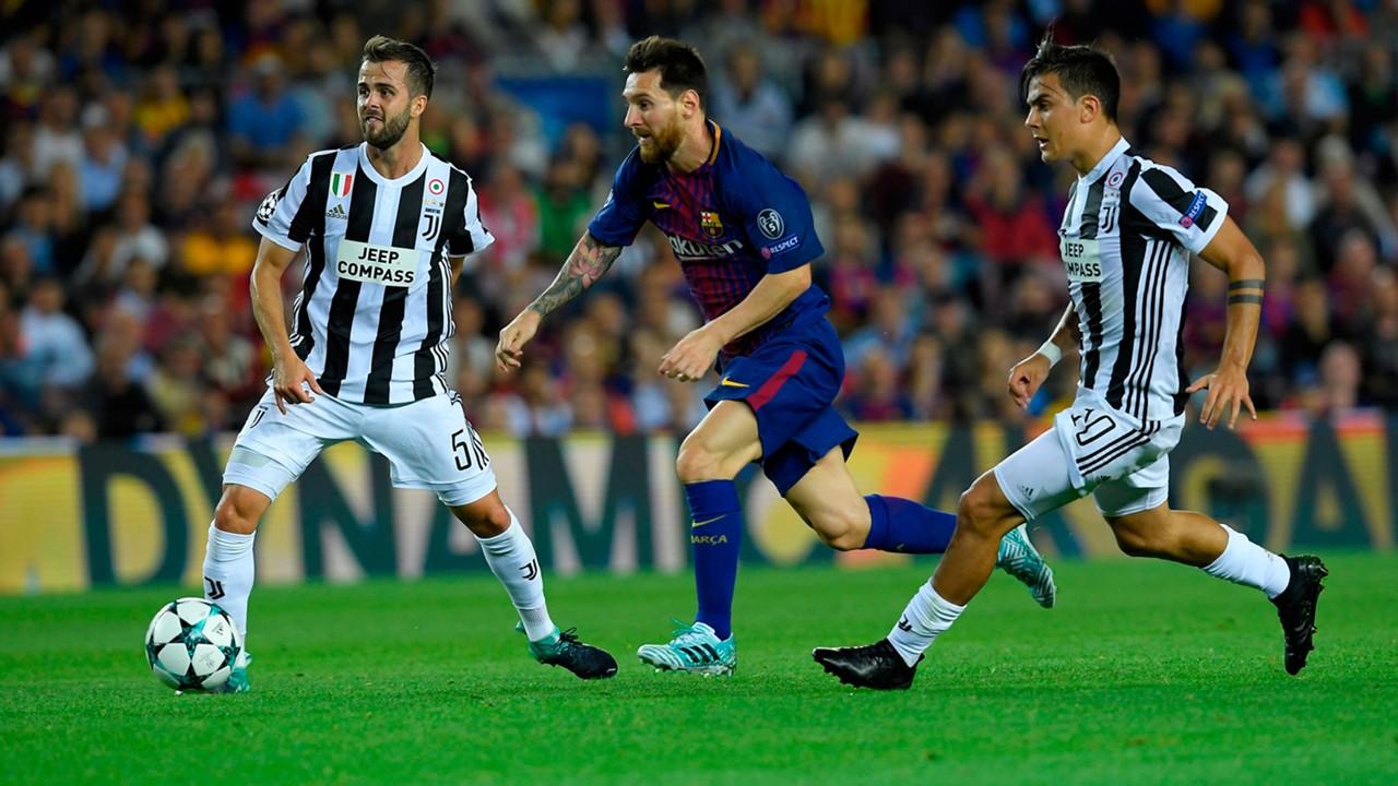 Juventus vs Barcelona EN VIVO por la UEFA Champions League
