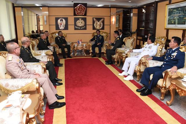 Jenderal Ponpipaat Benyasri Kunjungi Mabes TNI, Ini Yang Dibahas