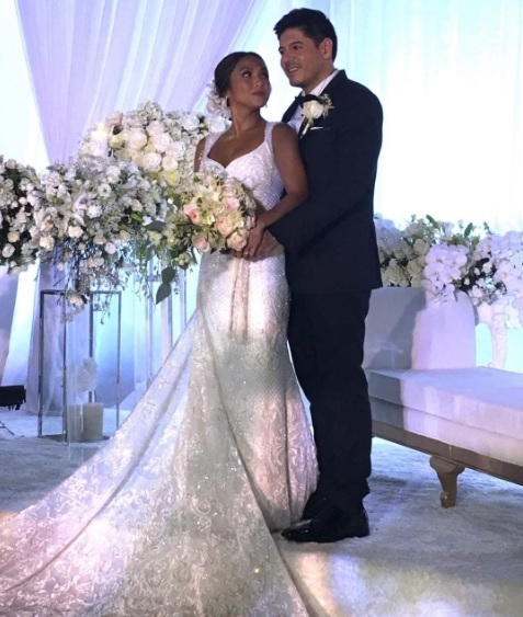 Sunshine Cruz Wedding Gown: Rochelle Pangilinan And Arthur Solinap's Wedding: Photos