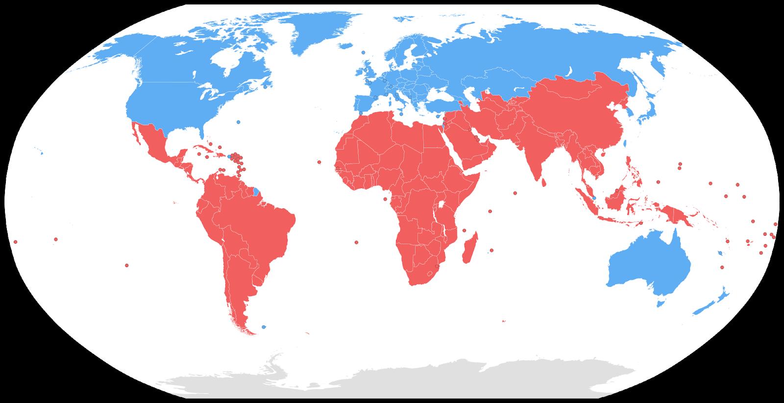 Gambar Negara Maju Di Benua Amerika 196 Negara Maju Dan Negara Berkembang Menurut Imf Resmi