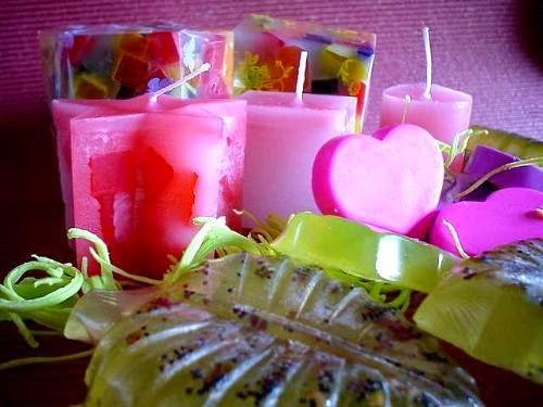 velas e sabonetes perfumados
