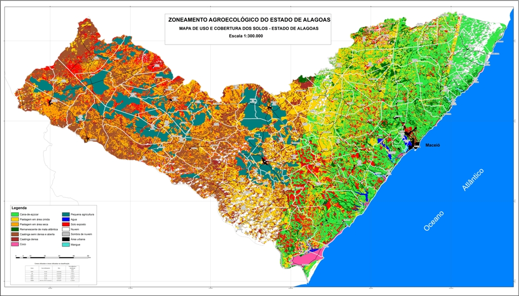 Mapas do Estado de Alagoas