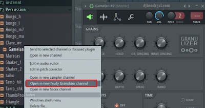 edit suara gamelan di Fl studio 12
