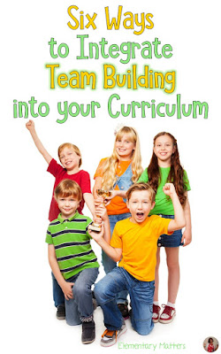 Six Ways to Integrate Team Building into Your Curriculum: this post lists 6 different Team Building Activities and ideas on fitting curriculum ideas into these games