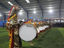 Satgas Yonmek XXIII-M UNIFIL Tampilkan Pertunjukan Drumband di Lebanon