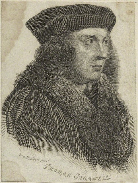 English Historical Fiction Authors: English Reformation Martyr: Thomas Cromwell, 1st Earl of Essex