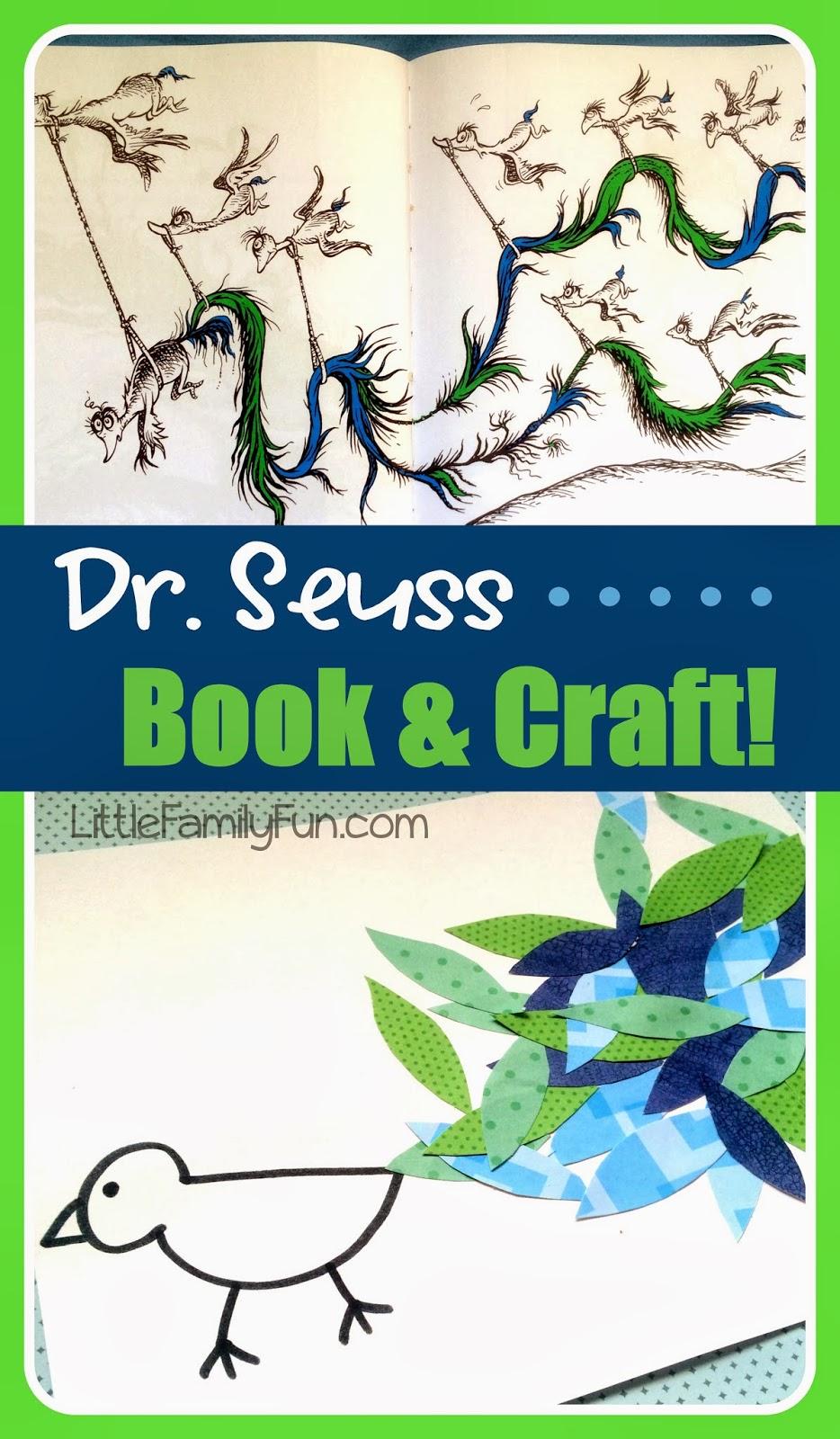 Little Family Fun Dr Seuss Craft Gertrude Mcfuzz