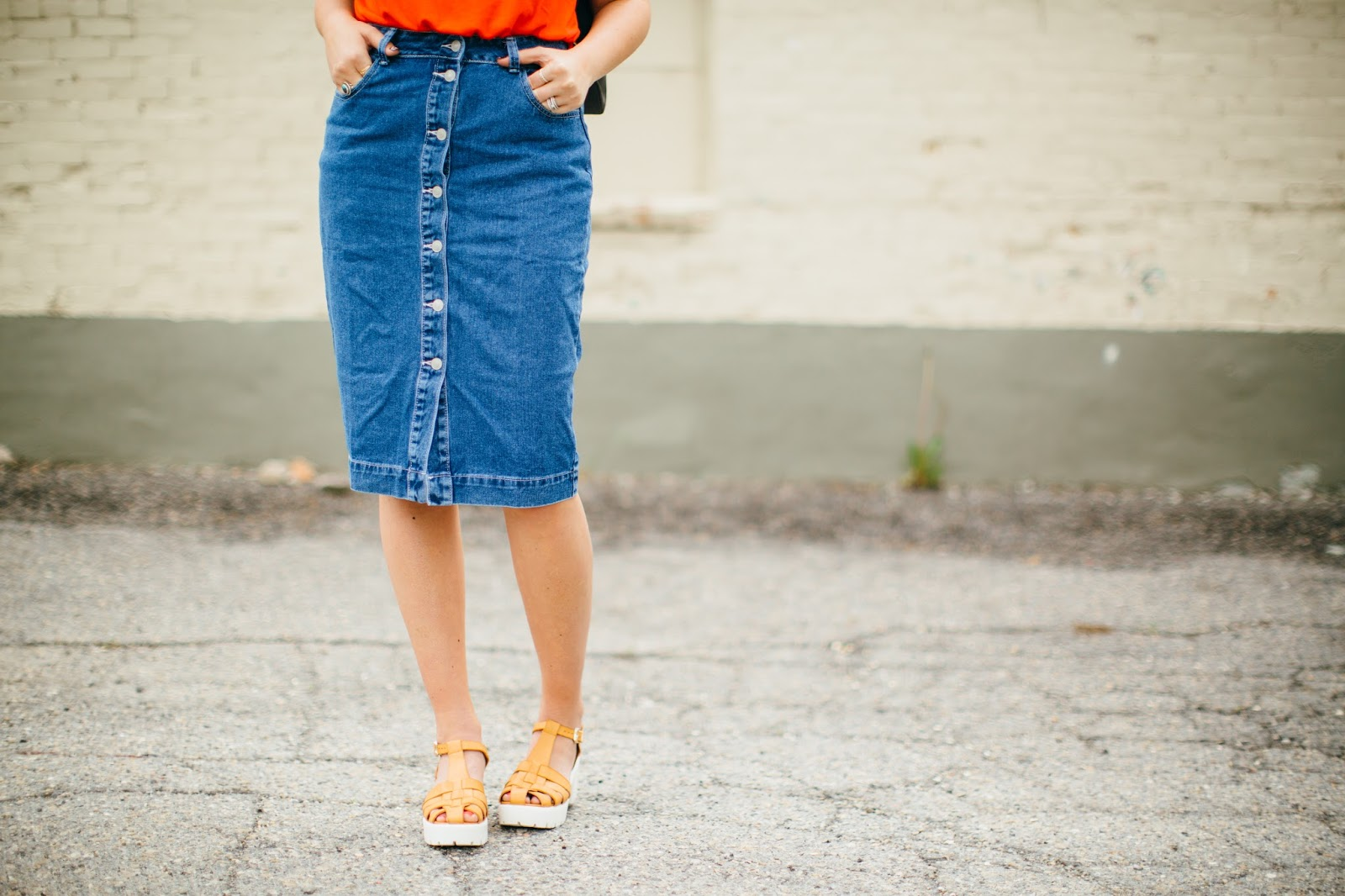 ASOS, ASOS denim skirt, Jean skirt
