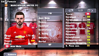 Download Texture Manchester United HD for PES PSP Android