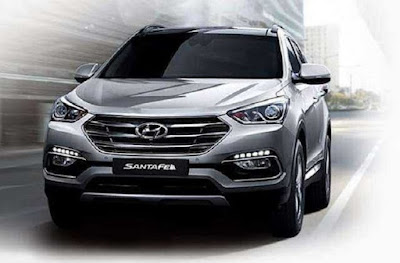 Hyundai Santa Fe 2018 redesign, review, Specification, Price