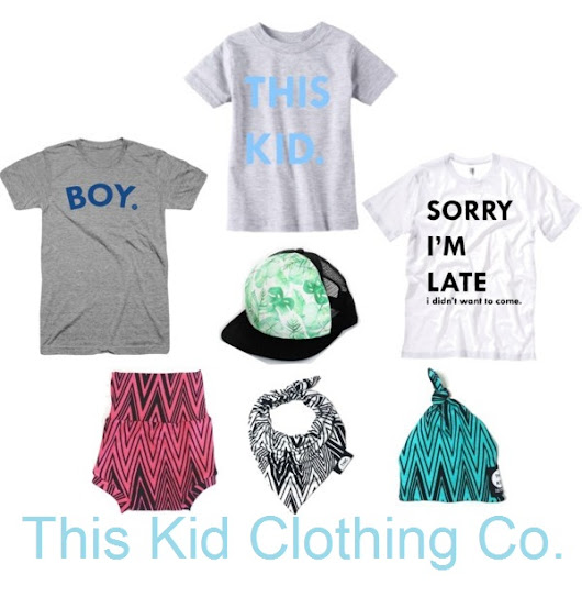 Kids Fashion Friday Featuring This Kid Clothing Co.