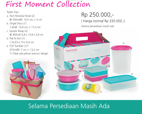 Tupperware Promo Sale Tupperware Tupperware Indonesia Tupperware Promo Tupperware Promo Surabaya First Moment Collection Promo Tupperware 489x393