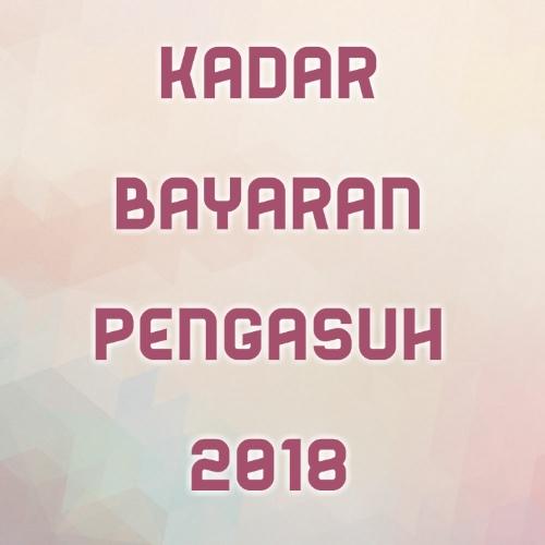 Kadar Bayaran Pengasuh 2018