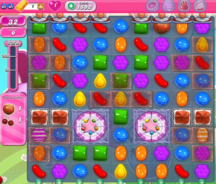 Candy Crush Saga 1592