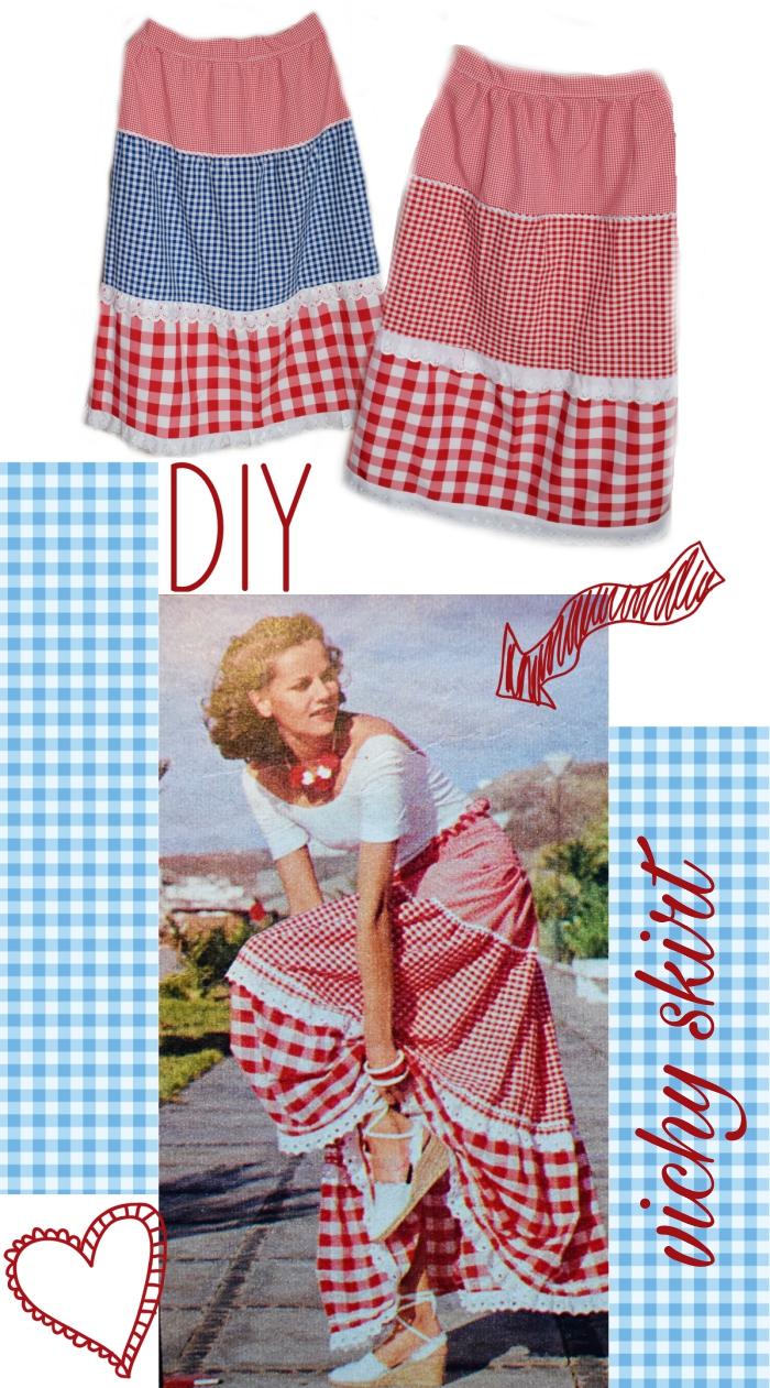 DIY - Jak uszyć wakacyjną spódnicę z prostokątów??