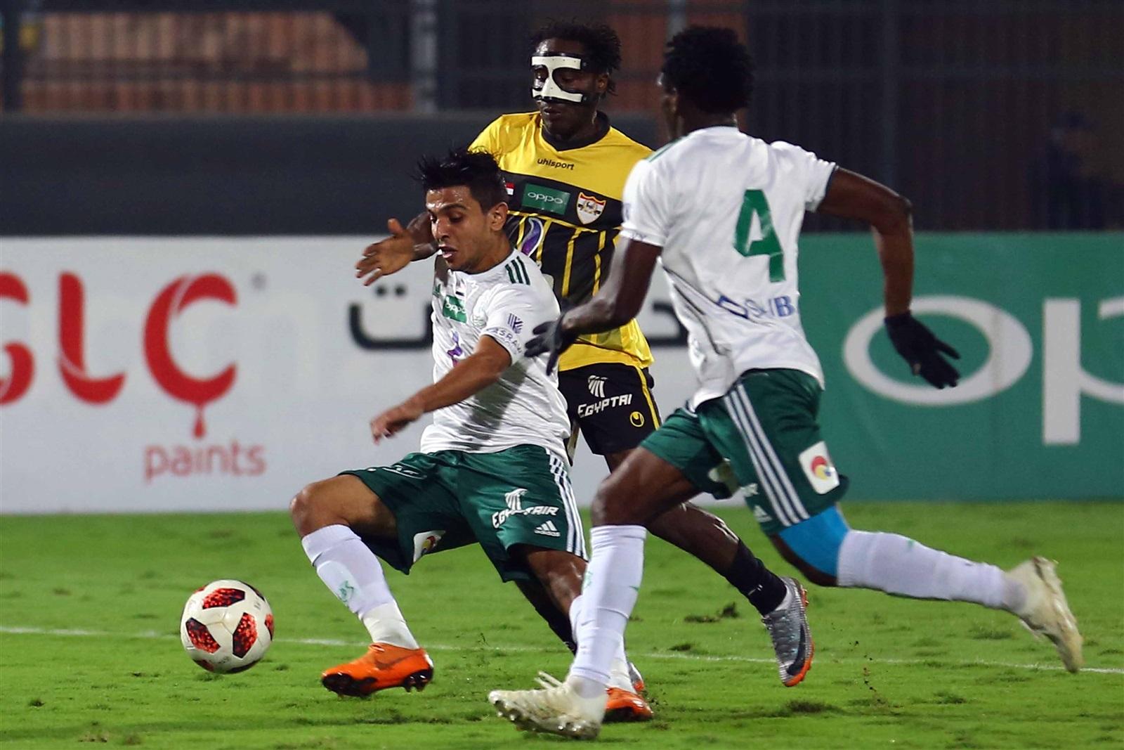 مباراة المصري والانتاج الحربي