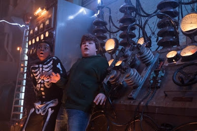 Goosebumps 2 Haunted Halloween 2018 movie still Jeremy Ray Taylor Caleel Harris