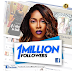 Tiwa Savage celebrates 1 million followers, steps out in distressed jeans