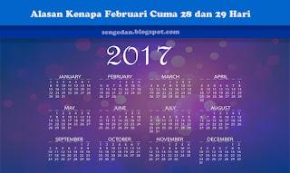 Alasan Kenapa Februari Cuma 28 dan 29 Hari