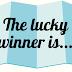 The lucky winner is.....