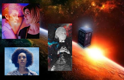 """The Wonder of Doctor Who"" - Doctor Who collage I made, with Google Image photos."