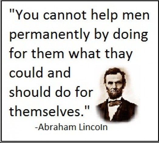 Abraham Lincoln Famous Quotes: Havre Daily Corrector!: Drug Free Welfare