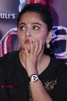 Actress Anushka Shetty Stills in Black Gurthi at Baahubali 2 Press Meet  0002.jpg
