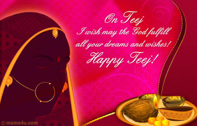 Happy Teej Images for Facebook
