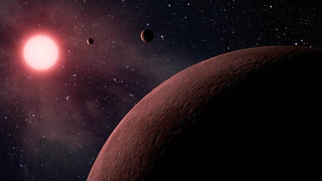 Ilustração artistica - NASA - JPL-Caltech