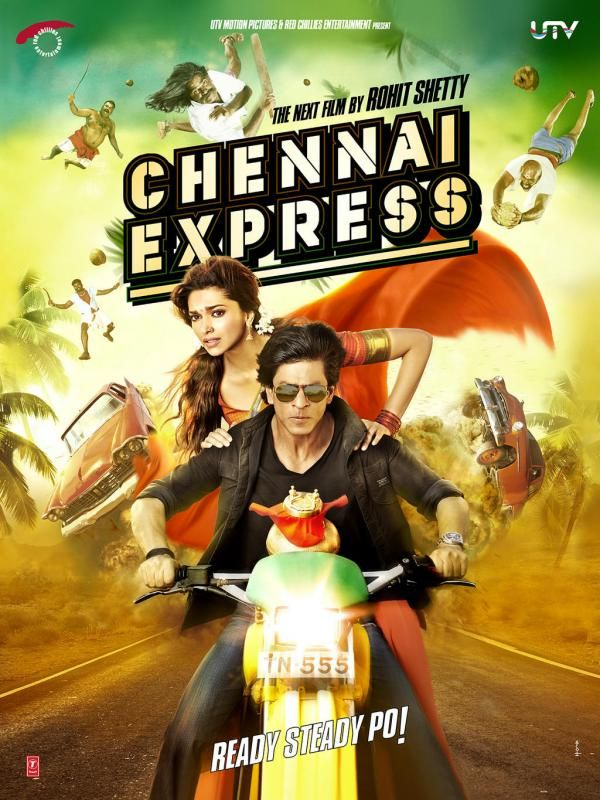 Chennai Express 2013 Hindi Full Movie 720p BluRay 1GB ESubs