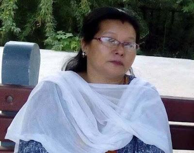 Suryamani Rai Gorkha Janmukti Nari Morcha President Mungpoo Labdah Samasty