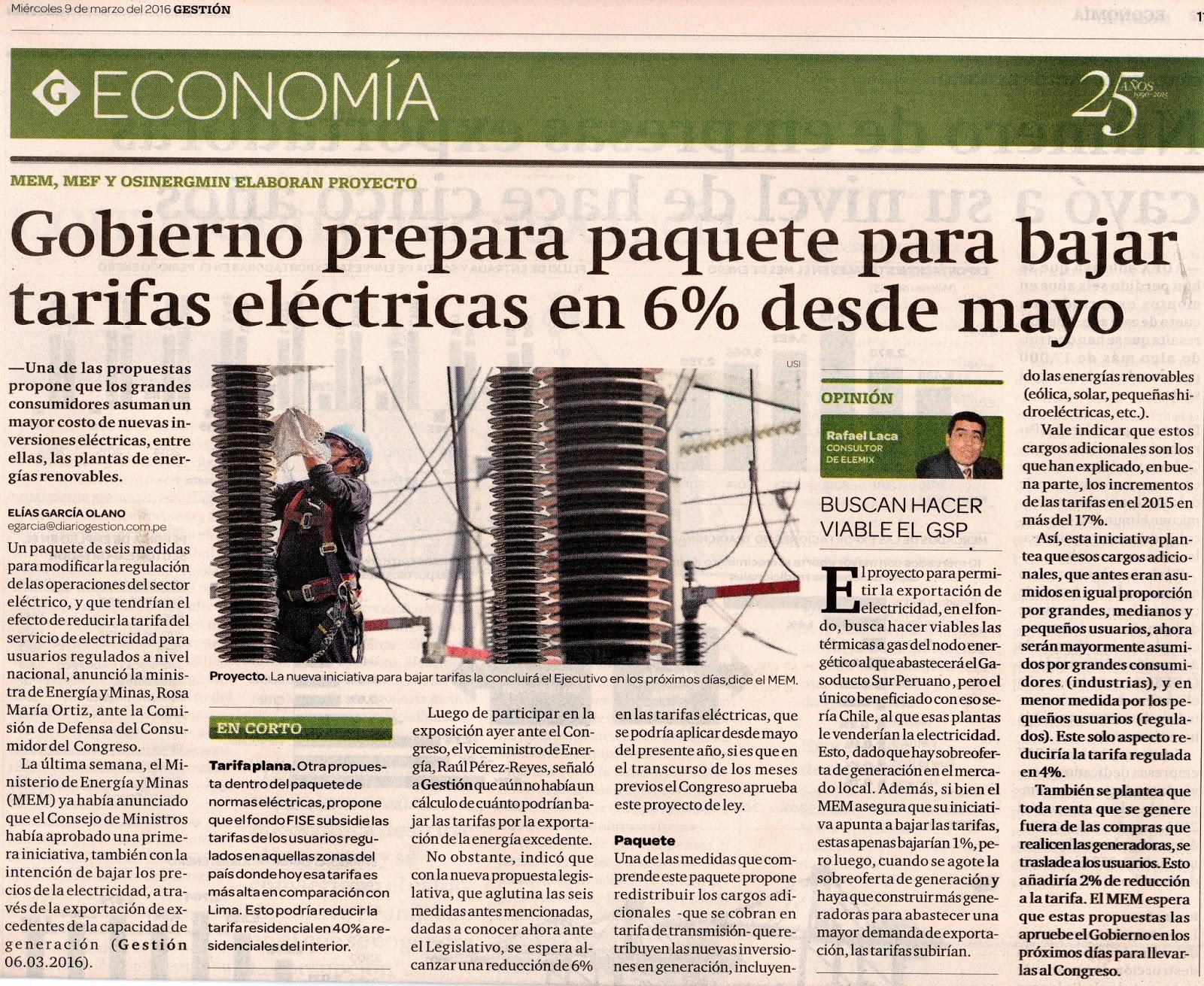 Kuraka Miner A Y Energ A Gobierno Prepara Paquete Para