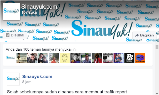 follow us on facebook,ikuti kami di facebook, widget Facebook Blog