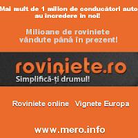 viniete, roviniete, taxe de drumuri online