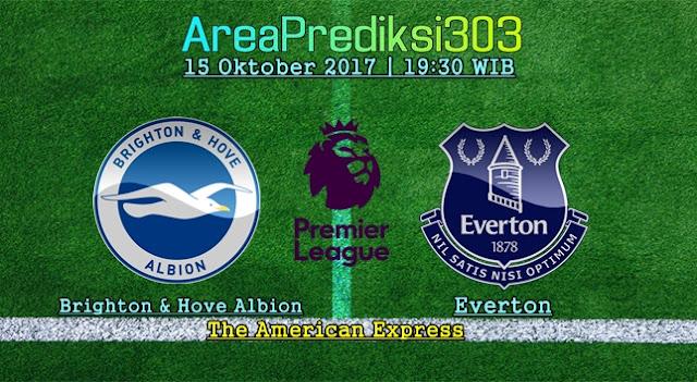 Prediksi Skor Brighton vs Everton 15 Oktober 2017
