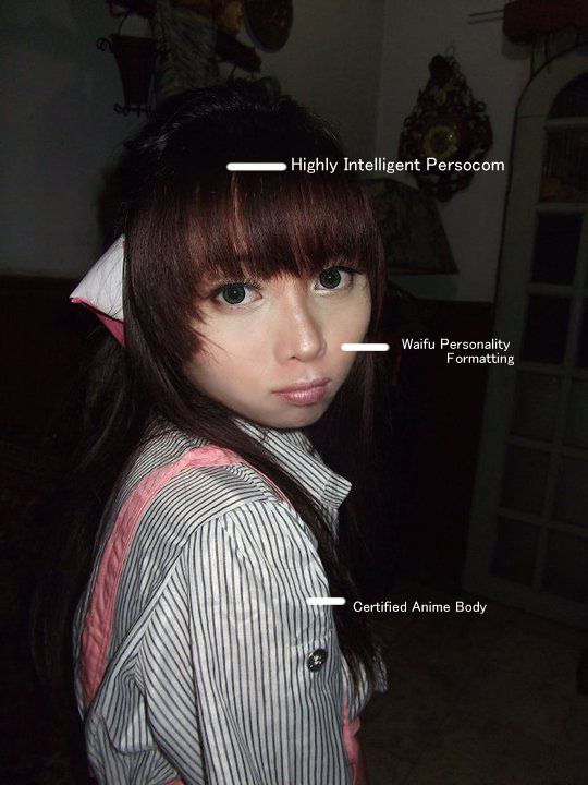Trixia salonga chobits original character cosplay
