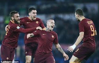 Radja Nainggolan, Prediksi Juventus vs AS Roma, Serie A 2016/2017 GW 17
