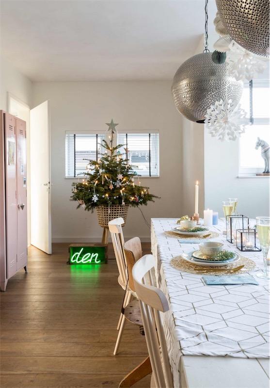 Navidad de un interior holandés chicanddeco