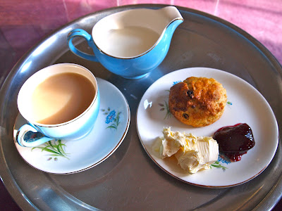 Perfect scone afternoon tea