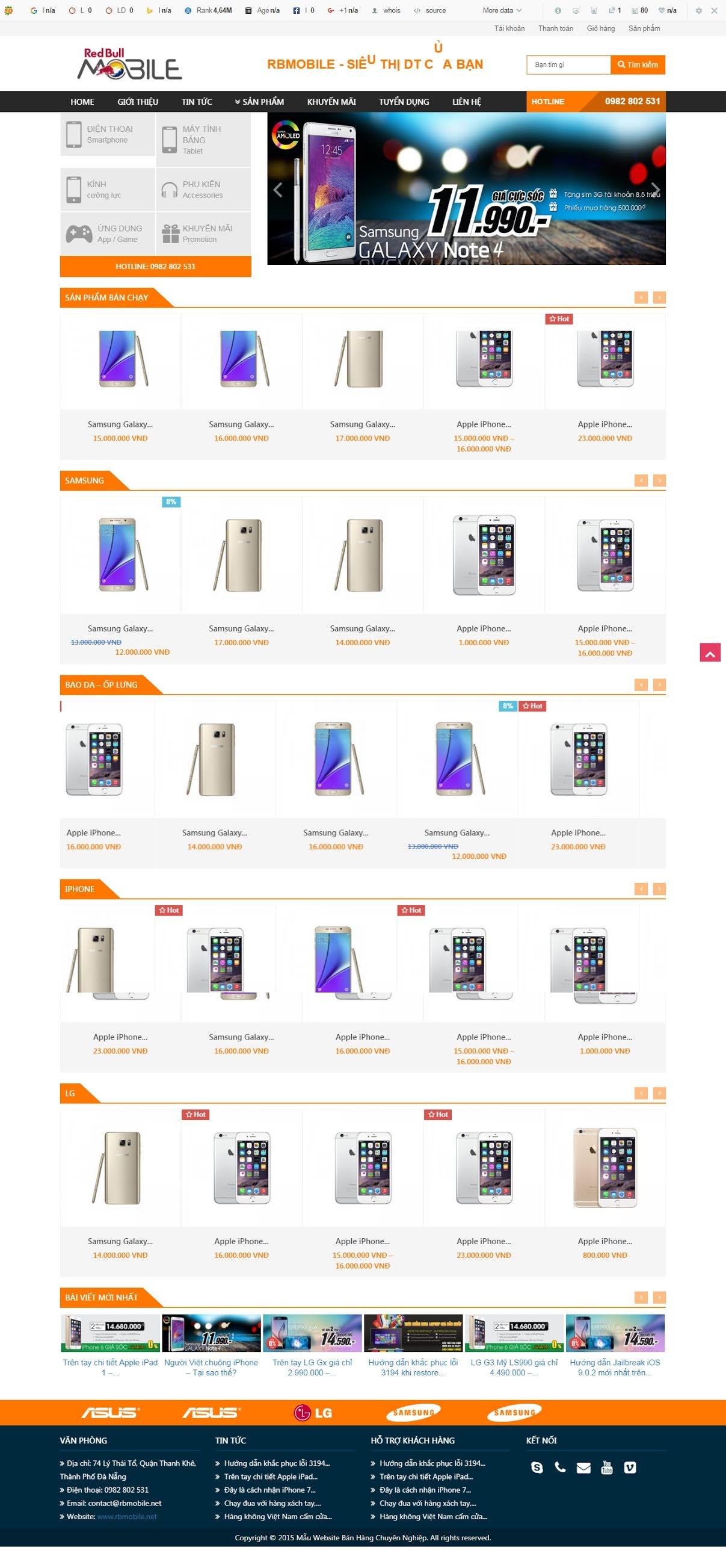BÁN HÀNG 082 - điện thoại smartphone